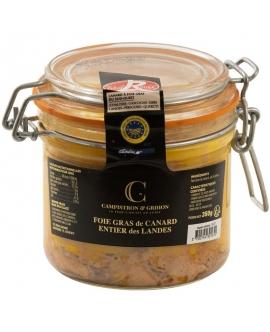 Foies gras de canard entier en conserve